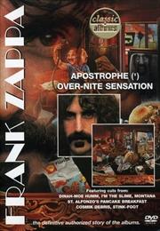 Apostrophe/Overnight Sensation   DVD