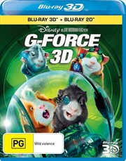 G-Force | 3D + 2D Blu-ray
