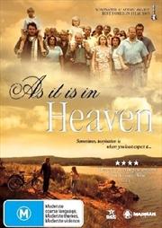 As It Is In Heaven | DVD