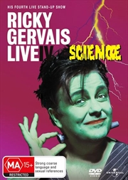 Ricky Gervais: Live 4: Science | DVD