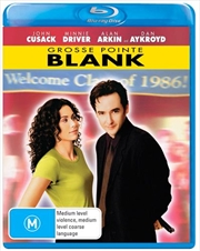 Grosse Pointe Blank   Blu-ray