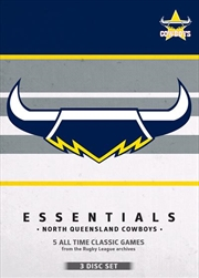 NRL - Essentials - North Queensland Cowboys
