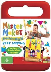 Mister Maker - Around The World - Keep Making | DVD