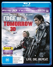 Edge Of Tomorrow | 3D + 2D Blu-ray + UV