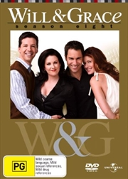 Will and Grace - Season 08 | DVD
