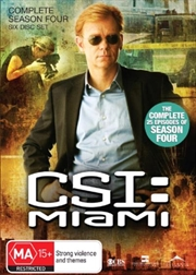 CSI: Miami - Season 04 | DVD