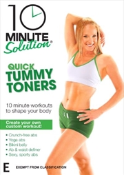 10 Minute Solution: Quick Tummy Toners | DVD