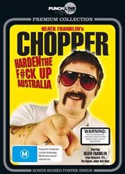Punchline Premium: Heath Franklin's Chopper: Harden the F*ck Up Australia | DVD