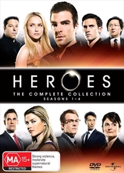Heroes - Season 1 - 4 Boxset | DVD