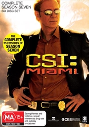 CSI: Miami - Season 07 | DVD