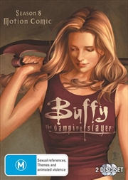Buffy The Vampire Slayer - Season 8 | Motion Comic | DVD