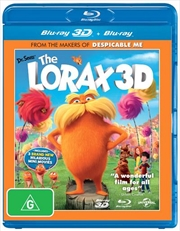 Dr. Seuss' The Lorax | 3D + 2D Blu-ray