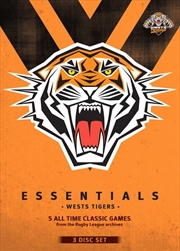 NRL: Essentials:  Wests Tigers | DVD