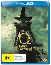 Oz - The Great And Powerful | 3D Blu-ray