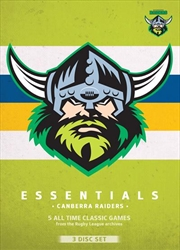 NRL: Essentials: Canberra Raiders