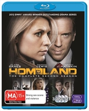 Homeland - Season 2 | Blu-ray