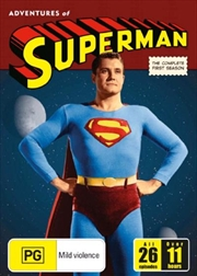 Adventures Of Superman - Season 01 | DVD