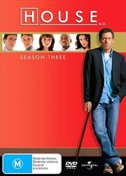 House, M.D. - Season 3 | DVD
