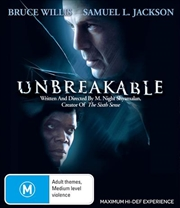 Unbreakable | Blu-ray