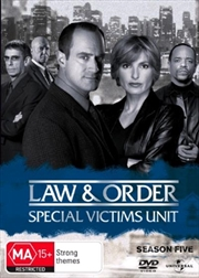 Law And Order: Special Victims Unit - Season 05 | DVD