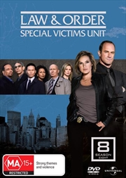 Law And Order: Special Victims Unit - Season 08 | DVD