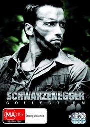 Arnold Schwarzenegger Collection - True Lies / Terminator / Predator / Commando / Stay Hungry / Cona   DVD