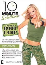 10 Minute Solution: Ultimate Boot Camp | DVD