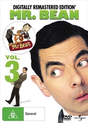 Mr. Bean - Vol 3 | Digitally Remastered Edition | DVD