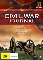 Civil War Journal: The Conflict Begins and The Commanders | DVD