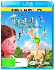Tinker Bell And The Great Fairy Rescue | Blu-ray