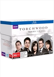 Torchwood - Series 1-3 Boxset | Blu-ray