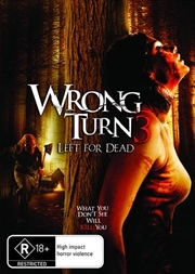 Wrong Turn 3 - Left For Dead | DVD