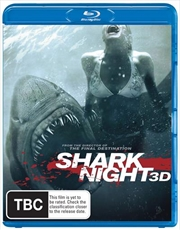 Shark Night | 3D + 2D Blu-ray