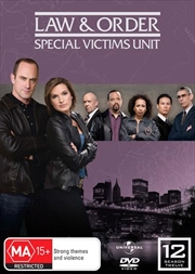 Law And Order: Special Victims Unit - Season 12 | DVD
