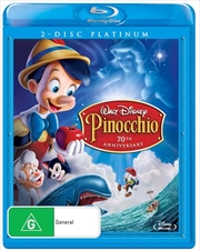 Pinocchio - Platinum Edition | Blu-ray