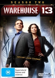 Warehouse 13 - Season 2 | DVD
