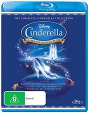 Cinderella - 3 Movie Collection | Blu-ray