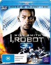 I, Robot | 3D Blu-ray + 2D Blu-ray + DVD