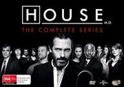 House, M.D. - Season 1-8 | Boxset | DVD