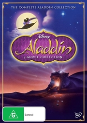 Aladdin Triple Movie Pack | DVD