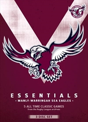 NRL: Essentials: Manly-Warringah Sea Eagles | DVD