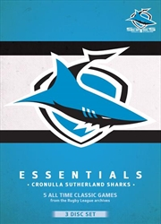NRL: Essentials: Cronulla-Sutherland Sharks | DVD