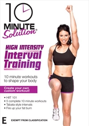 10 Minute Solution: High Intensity Interval Training | DVD