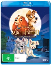 Lady And The Tramp II: Scamp's Adventure | Blu-ray