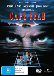 Cape Fear - Single Disc