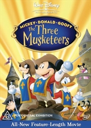 Three Musketeers - Mickey, Donald and Goofy | DVD