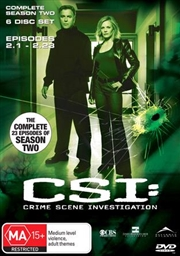CSI: Crime Scene Investigation - Season 02 | DVD