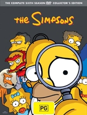 Simpsons, The - Season 6 | DVD