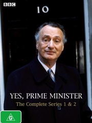 Yes, Prime Minister - Series 01 and 02 Box Set