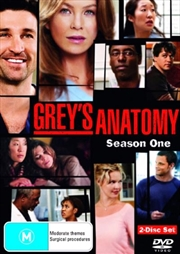 Grey's Anatomy - Season 01 | DVD
